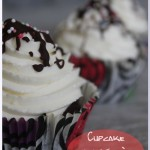 Cupcake chocolat à la crème mascarpone et chantilly