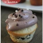Cupcake au sirop d'érable et pépites de chocolat (Georgetown Cupcake recipe)