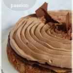 Entremet Fantatisk chocolat lait et fruit de la passion (façon Christophe Michalak)