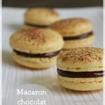 Macaron Mogador : chocolat au lait et fruit de la passion (Pierre Hermé)