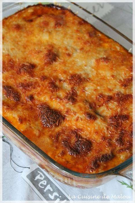 recette-moussaka-aubergine-boeuf-tomate-béchamel