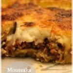 Moussaka grecque à la viande de boeuf