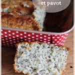 Cake au citron et pavot