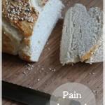 Pain bretzel (Gros pain façon bretzel/malicette/mauricette)