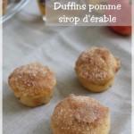 Duffins aux pommes et sirop d'érable (entre donut et muffins)