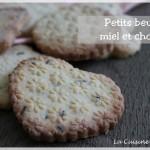 Petits beurres au miel et chocolat (+ test Rolling Pins Design de Juliette)