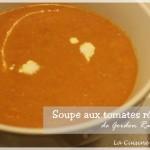 Soupe de tomates rôties de Gordon Ramsay