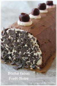 recette-bûche-forêt-noir-chocolat