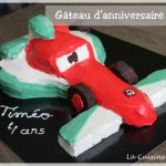 Gâteau Cars 2 Francesco Bernoulli